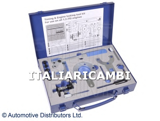 1 KIT ATTREZZI MESSA IN FASE BLUE PRINT ALFA ROMEO, FIAT, FORD, LANCIA, OPEL, SUZUKI