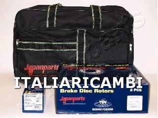 Kit dischi pastiglie freno anteriore japanparts kdp 803 for Kit per il portico anteriore