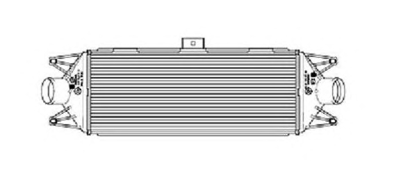 1 INTERCOOLER NRF IVECO, MULTICAR