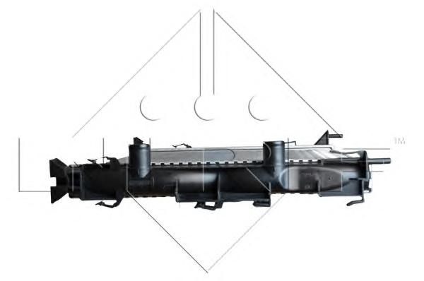 1 RADIATORE MOTORE NRF RENAULT