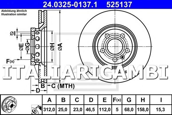 2.5 TDI 4 KW:132 200 KIT PASTIGLIE FRENO ANTERIORE BREMBO AUDI A6 AVANT 4B5 C5