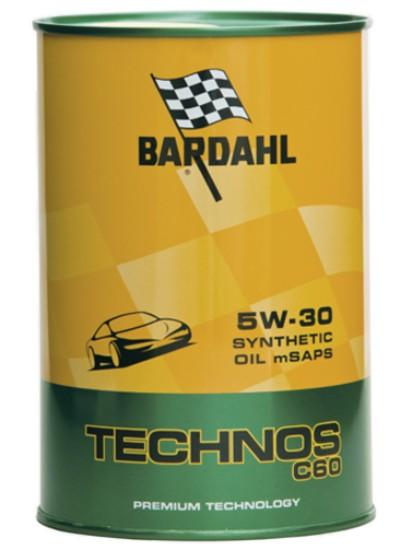 1 LITRO OLIO MOTORE BARDAHL TECHNOS 5W30 C60