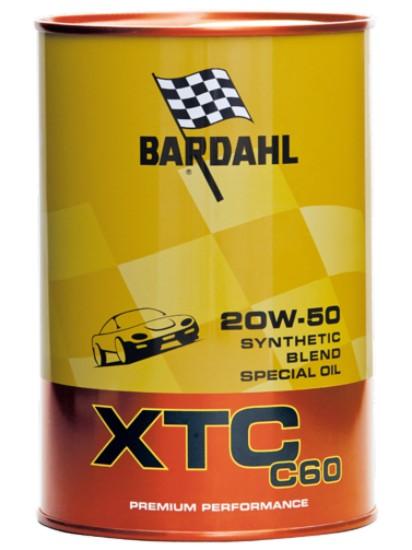 1 LITRO OLIO MOTORE BARDAHL XTC 20W50 C60