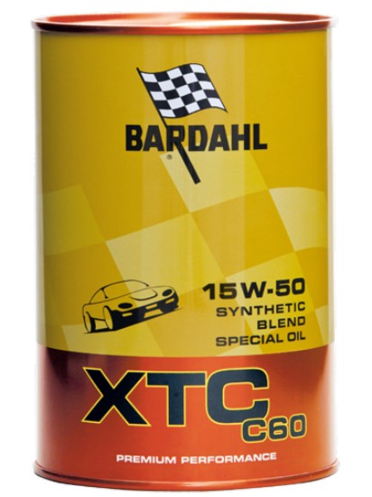 1 LITRO OLIO MOTORE BARDAHL XTC 15W50 C60