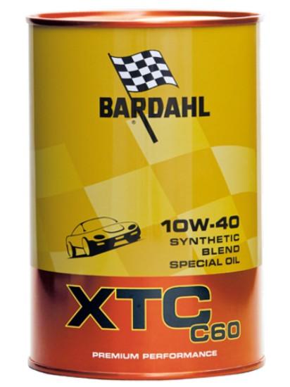 1 LITRO OLIO MOTORE BARDAHL XTC 10W40 C60