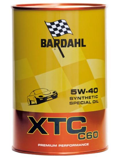 1 LITRO OLIO MOTORE BARDAHL XTC 5W40 C60