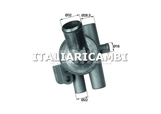Termostato behr c54286 alfa romeo for Termostato solaris