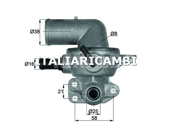 Termostato behr c93988 chrysler for Termostato solaris