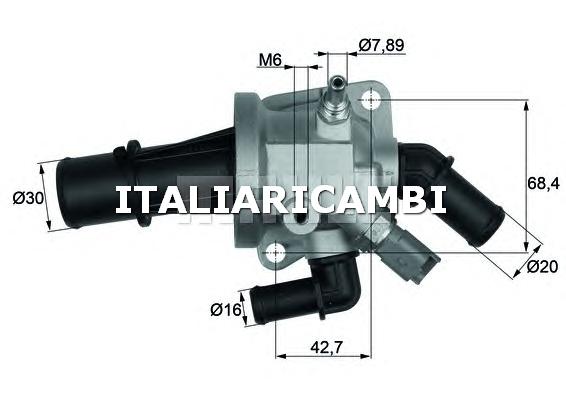 Termostato behr g85288 fiat ford lancia for Termostato solaris
