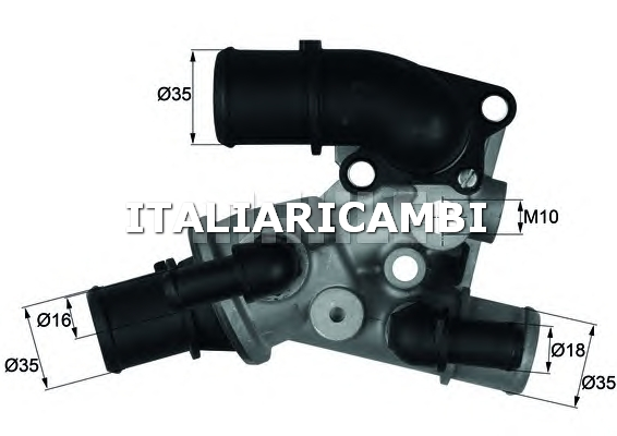 Termostato behr c60980 fiat for Termostato solaris
