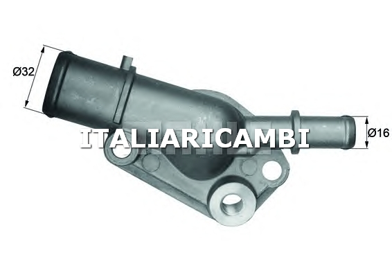 Termostato behr c67687 fiat for Termostato solaris