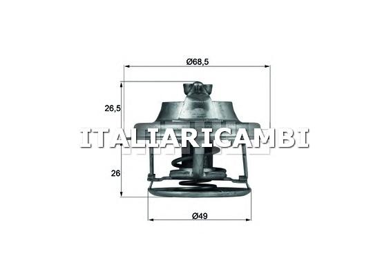 Termostato behr h01582 lancia peugeot renault volvo for Termostato solaris