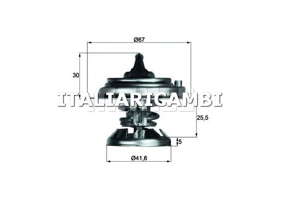 Termostato behr 213680 mercedes benz puch for Termostato solaris