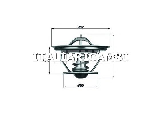 Termostato behr 231579 iveco neoplan scania for Termostato solaris