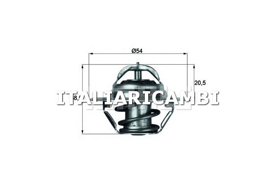 Termostato behr 107083 alfa romeo buick cadillac for Termostato solaris