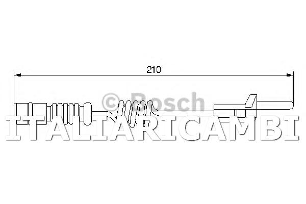 1 Rilevatore Usura Bosch 1987474969