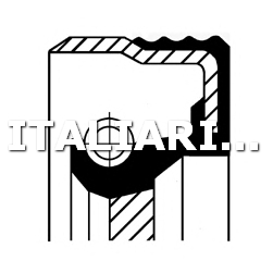 1 PARAOLIO CAMBIO AUTOMATICO DX CORTECO AUDI, HONDA, MERCEDES-BENZ, SKODA