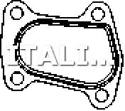 1 GUARNIZIONE TUBO GAS SCARICO CORTECO FIAT, FORD, OPEL