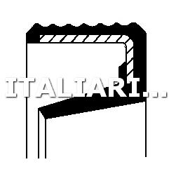 1 PARAOLIO CAMBIO MANUALE CORTECO CITROEN, FIAT, NISSAN, PEUGEOT