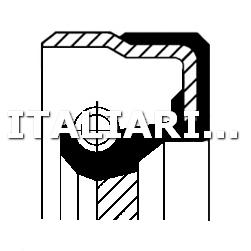 1 PARAOLIO ALBERO MOTORE DX CORTECO AUTOBIANCHI, FIAT, LANCIA