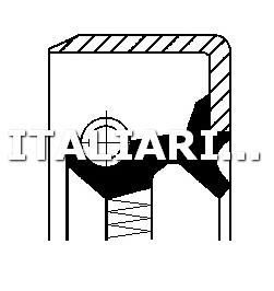1 PARAOLIO DIFFERENZIALE CORTECO FIAT, SEAT