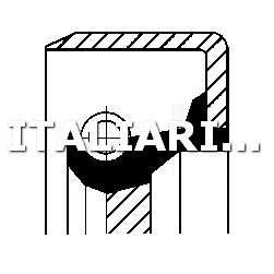 1 PARAOLIO ALBERO A CAMME DX CORTECO FIAT, LANCIA, SEAT