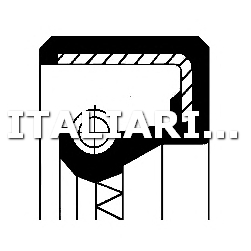 1 ANELLO TENUTA COMPRESSORE CORTECO FIAT, IVECO, LAND ROVER, VW