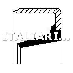 1 PARAOLIO CAMBIO MANUALE CORTECO IVECO
