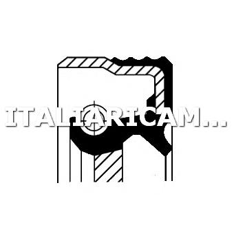 1 PARAOLIO DIFFERENZIALE ANTERIORE DX CORTECO ALFA ROMEO, FIAT, LANCIA, SEAT