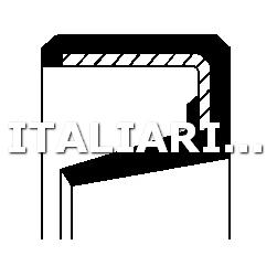 1 PARAOLIO TACHIMETRO CORTECO DAIHATSU