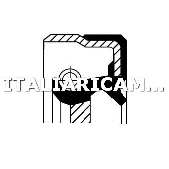 1 PARAOLIO ALBERO A CAMME DX CORTECO ALFA ROMEO, CADILLAC, CHEVROLET, CHRYSLER, DAEWOO, DODGE, FIAT, IRMSCHER, JEEP, LADA, NISSAN, OPEL, PLYMOUTH, SAAB, TOYOTA, VW