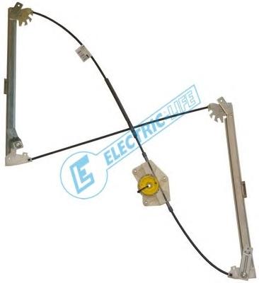 1 ALZACRISTALLO  ANTERIORE SX ELECTRIC LIFE SEAT, AUDI