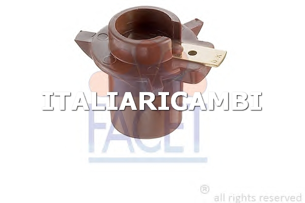 1 SPAZZOLA DISTRIBUTORE ACCENSIONE  FACET FIAT, CITROËN, TALBOT, SEAT, RENAULT, PEUGEOT, LAND ROVER, CHRYSLER