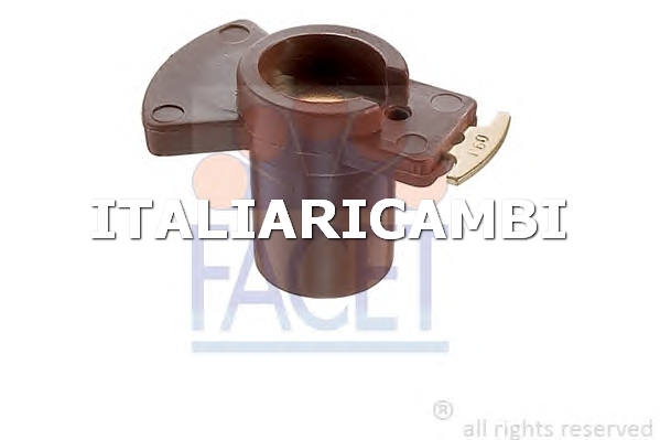 1 SPAZZOLA DISTRIBUTORE ACCENSIONE  FACET FIAT, CITROËN, TALBOT, RENAULT, PEUGEOT, CHRYSLER