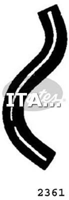 1 FLESSIBILE RADIATORE INFERIORE GATES FIAT, FORD, LANCIA, MITSUBISHI, VW