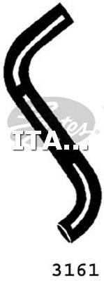 1 FLESSIBILE RADIATORE SUPERIORE GATES FIAT, LANCIA, MERCEDES-BENZ, RENAULT, SKODA