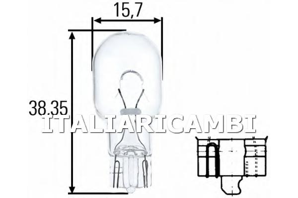 1 LAMPADINA LUCE  HELLA