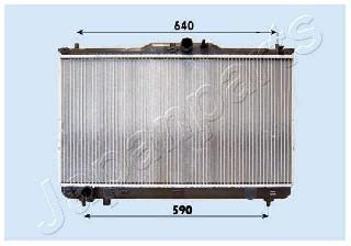 Foto Radiatore Motore JAPANPARTS RDA283091