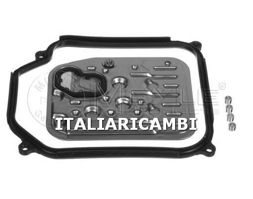 1 KIT FILTRO IDRAULICO CAMBIO AUTOMATICO  MEYLE VW, SKODA, SEAT, AUDI