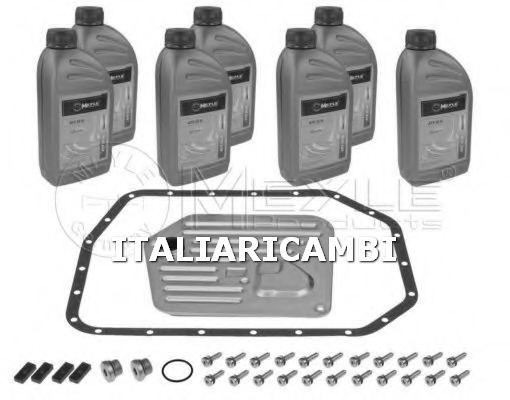 1 KIT FILTRO + OLIO CAMBIO AUTOMATICO MEYLE BMW , JAGUAR , LAND ROVER