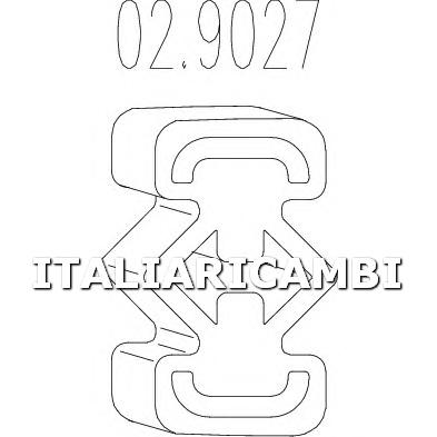 1 GOMMINO MTS ALFA ROMEO, FIAT, LANCIA
