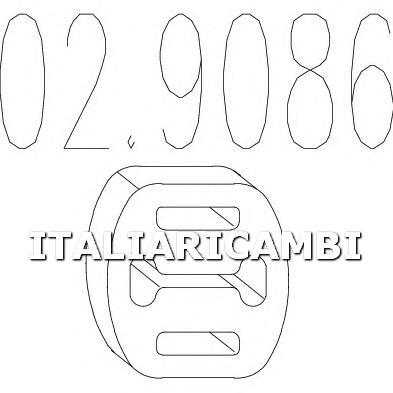 1 GOMMINO MTS ALFA ROMEO, AUTOBIANCHI, FIAT, LANCIA