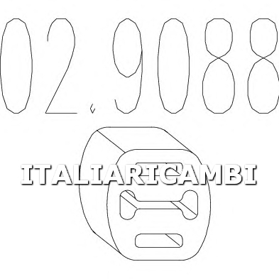 1 GOMMINO MTS ALFA ROMEO, AUTOBIANCHI, FIAT, INNOCENTI, LANCIA, SEAT, VOLVO