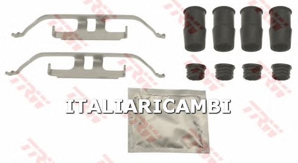 1 KIT ACCESSORI PASTIGLIE FRENO  ANTERIORE TRW