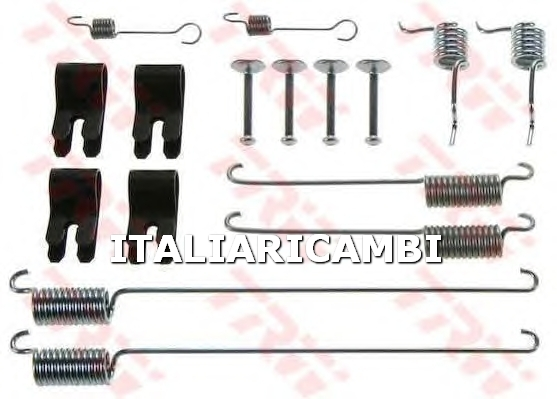 1 KIT ACCESSORI GANASCE FRENO  POSTERIORE TRW LAND ROVER