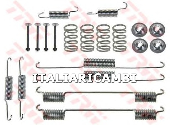 1 KIT ACCESSORI GANASCE FRENO  POSTERIORE TRW KIA, DODGE, CHRYSLER