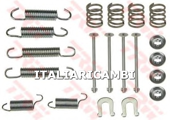 1 KIT ACCESSORI GANASCE FRENO  POSTERIORE TRW