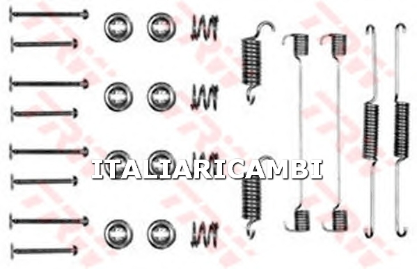 1 KIT ACCESSORI GANASCE FRENO  POSTERIORE TRW FORD, TRIUMPH