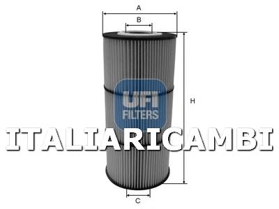 Filtro olio BOSCH F026407125 MERCEDES-BENZ NISSAN OPEL RENAULT VAUXHALL