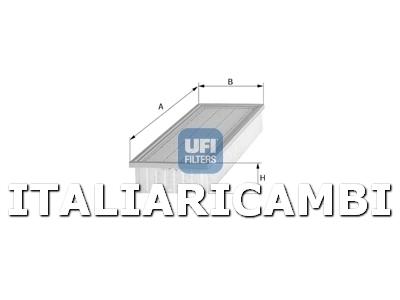 1 FILTRO ARIA UFI AUTOBIANCHI, FIAT, LANCIA